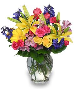 Image of flowers in vase