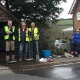community cleaning up for Love Burwash Day