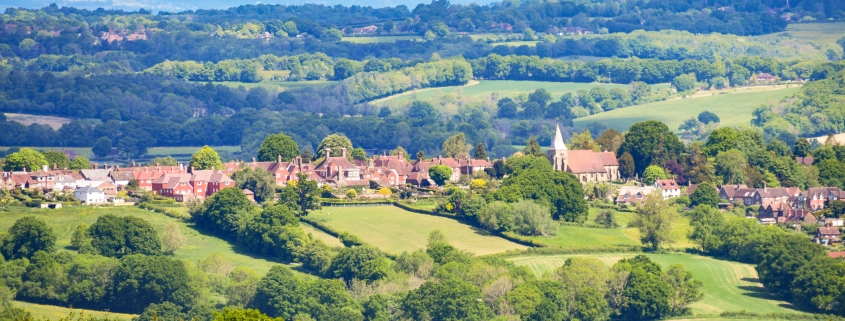 Burwash and countryside
