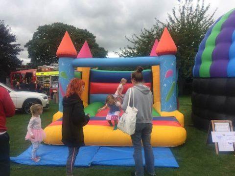 Image bouncy castle