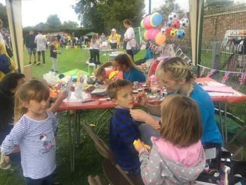 Image children and face painting